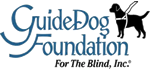 Logo for the Guide Dog Foundation for the Blind, Incorporated.